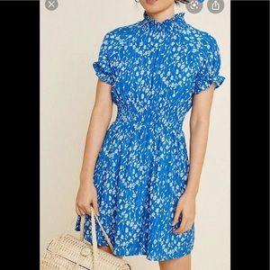 Hayden LA Dress - size large - floral smocked mini